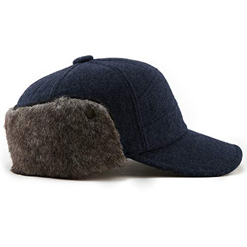 Mens Fitted Wool Earflap Winter 24