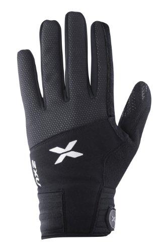 2XU Sub Zero Gloves, Black, Small/Medium