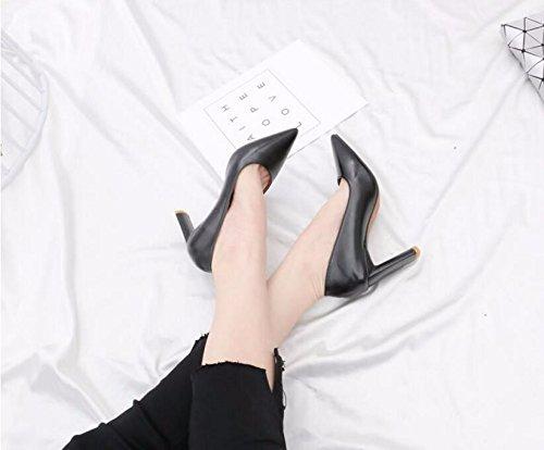 Versatile Elegante Alti La GTVERNH Punta Come 8Cm Calzature Singole Luce Tacchi Ol E Brown Elegante Scarpe E Video Donna Autunno Ed Sottile Primavera Professional FZdwqdI