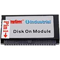 Kingspec 44PIN IDE PATA MLC 2GB 4GB 8GB 16GB 32GB DOM SSD Disk On Module For Network PC,Gaming (44PIN IDE PATA 16GB)