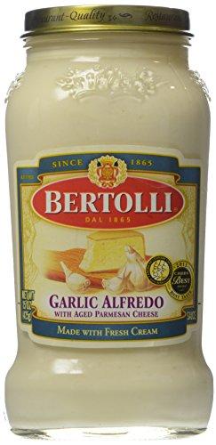 Bertolli Pasta Sauce, Garlic Alfredo, 15 oz
