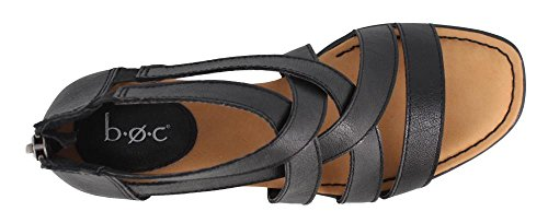 C Ivy Sandals B Women's Black O awqn0g1