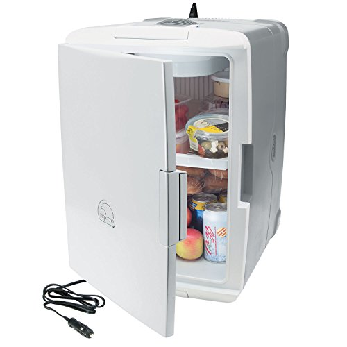 Winteco Ice Hotel Room Air Coolers : Igloo iceless quart with volt converter coolers silver