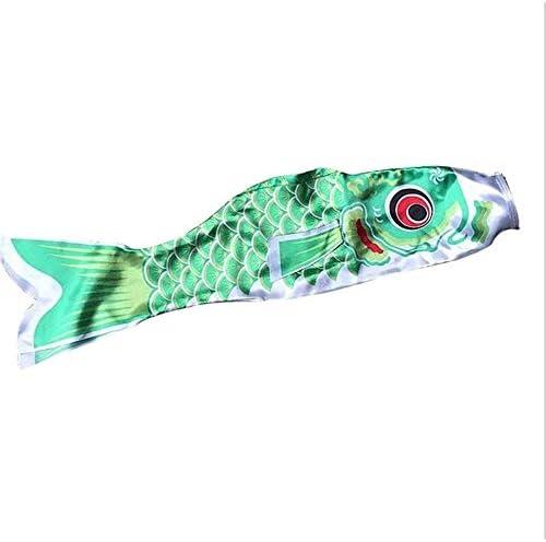 こいのぼり防水日本の鯉吹き流しストリーマー子供の子供のためのカラフルな魚の旗インテリアカイトこいのぼりハンギング GBYGDQ (Color : Red)