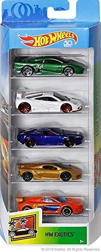 Hot Wheels 50th Anniversary 2018 HW Exotics 5-Pack