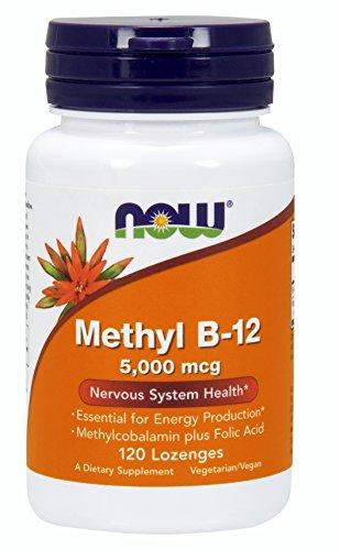 NOW Methyl B-12 5,000 mcg,120 Lozenges For Sale