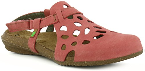 El wakataua Rosa Pleasant Sandali Sandalo Naturalista Donna Velcro N5063 BwqpnrB4O