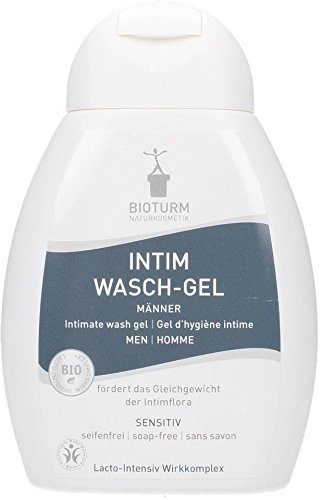 Soap Uomo - BIOTURM - Intimate Gel for Men - Gentle cleansing with delicate ingredients - No soap - Calms irritated skin - Natural protection of intimate flora - Natural - 250ml