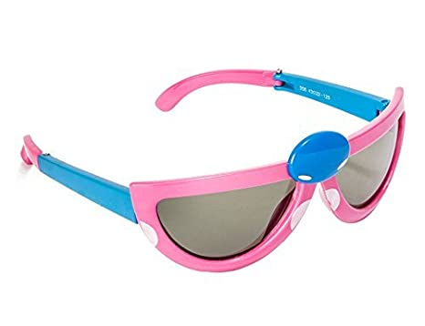 7cc6a453f1dd VESPL Polarized Foldable & Stretchable Boy's and Girl's Sunglasses ...