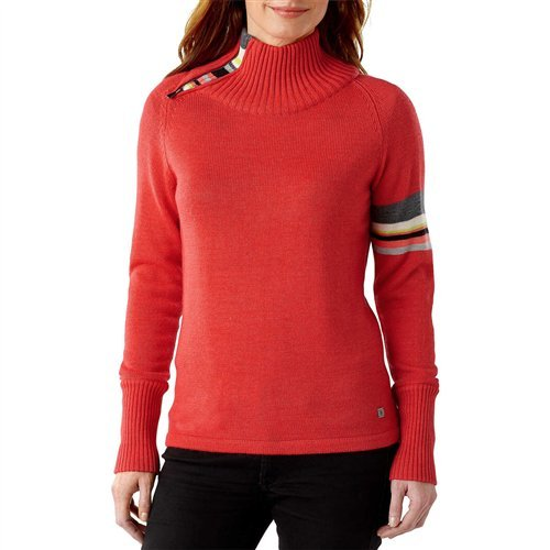 Smartwool Women's Isto Sport Sweater, Hibiscus Heather, Medium