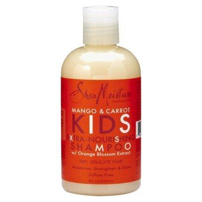 Shea Moisture Mango & Carotte enfants extra-Shampooing Nourrissant 8 oz