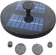 Funien Piscina com bomba de água solar Fonte solar com lagoa de jardim Pulverizadores de água com pulverizador