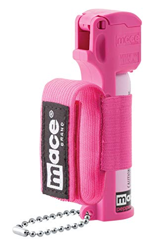 (Mace Brand Police Strength Pepper Spray Pink Jogger)