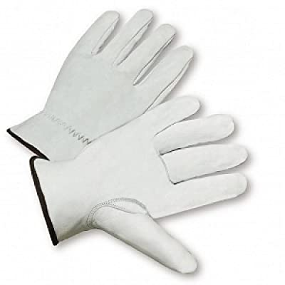 Leather Driving Gloves Mens Extra-Large West Chester 100% Goatskin (lot of 12)