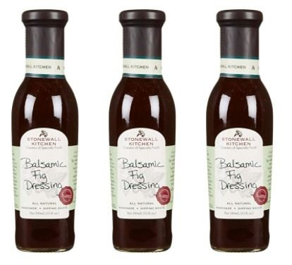 ingredients for balsamic dressing - 9