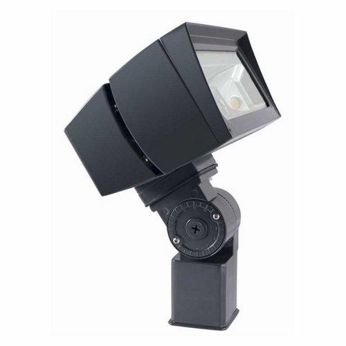 RAB Lighting FFLED39SFY/PC2 Future Flood 39W Warm LED Slipfitter, 277V, Bronze by RAB Lighting