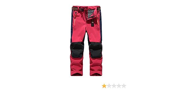 Deporte Al Aire Libre Pantalones De Trekking Niño Pantalones De Montaña Softshell Pantalones Impermeable Senderismo Niña Pantalones De Escalada ...