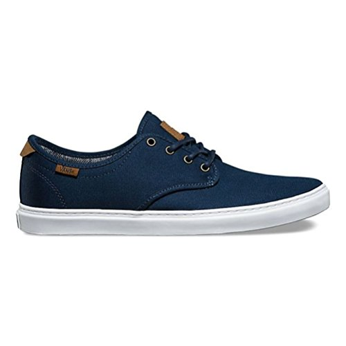 Vans Ludlow Canvas Skateboarden Schoen Canvas Jurk Blues Wit