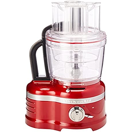 KitchenAid KFP1642CA Candy Apple Red Pro Line 16 Cup Food Processor