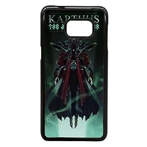Funda Samsung Galaxy S6 Edge Plus, la nota 5 Borde caso del teléfono celular Funda Negro LoL Skins - Pentakill Karthus O3Y0KZ