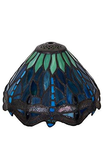 Meyda Tiffany 10524 Shade (Stained Tiffany Meyda Lamp Glass Floor)