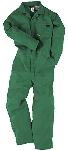 Neese Industries Indura Ultra-Soft 7 oz. Fire Resistant Coverall, XL, Green