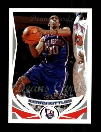 new style 96433 4599d Amazon.com: 2004 Topps # 124 Kerry Kittles New Jersey Nets ...