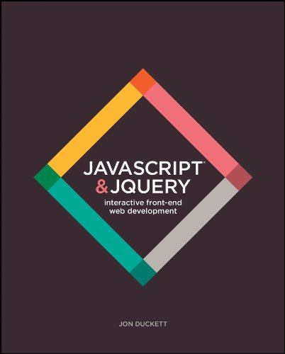 Book cover from JavaScript and JQuery: Interactive Front-End Web Development by Jon Duckett