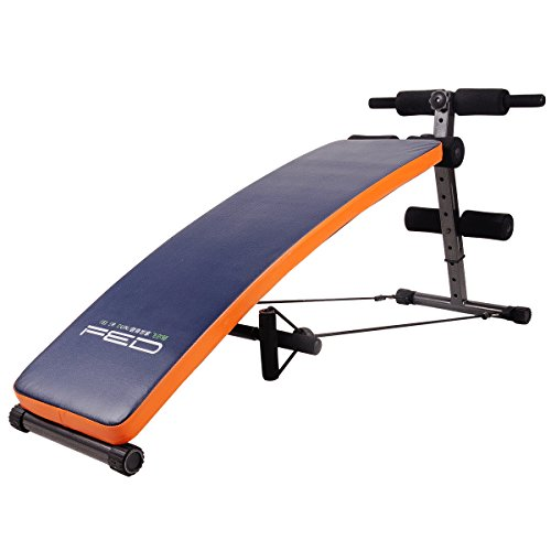 FEIERDUN Sit Up AB Bench Incline Decline Adjustable Workout Sit-up Bench,Slant Crunch Board Abdominal Benches