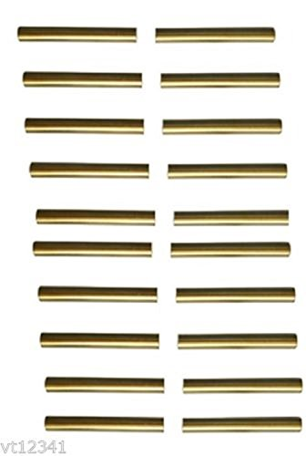 Click to view larger image Have one to sell? Sell now 20 slimline tubes brass tubes, 2 1/32