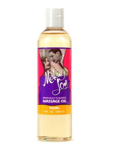 Making Love Massage Oil (Making love vanilla massage oil (Package Of 3) by Beyond All Expectations)