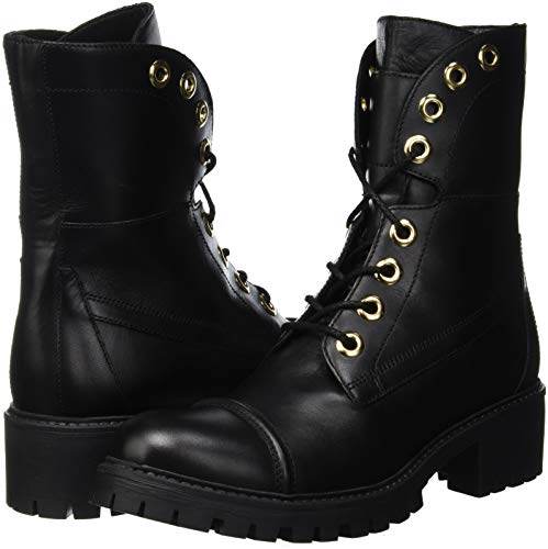 Milano Ca8pk3 Twinset Boots Women's Combat Black xrY5q0w8d0