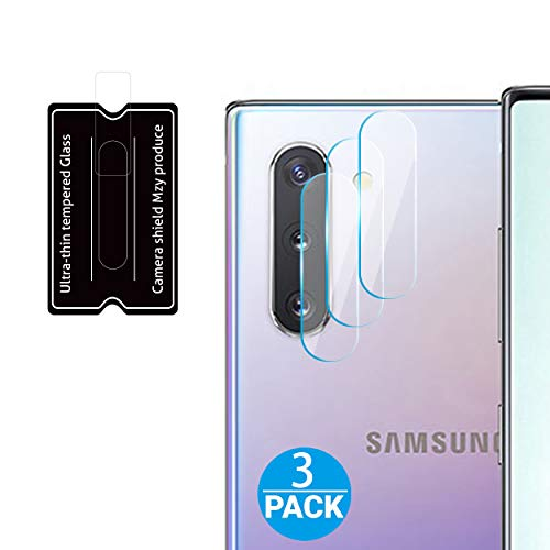 HOMEMO Screen Protector for Galaxy Note 10 / Note10 Plus Camera Lens 3 Pack Tempered Glass 2.5D Edge Advanced HD Clarity Work Most Case from HOMEMO