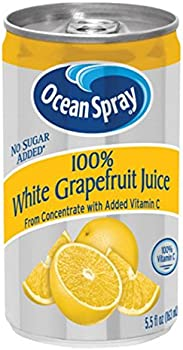 48-Count Ocean Spray 100% White Grapefruit Juice (5.5oz Cans)