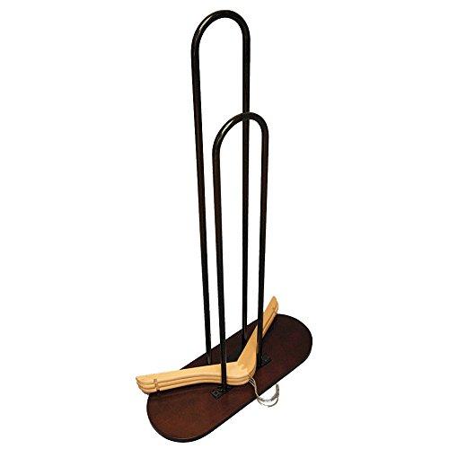 (NAHANCO 101M-WD Deluxe Wood Hanger Stackers, 33.5