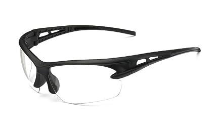 Flydo Gafas de Sol Deportivas, UV 400 Protección Gafas Deportivas Polarizadas Antivaho Antireflejo Anti Viento
