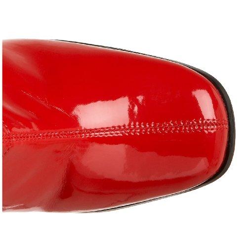 Funtasma KIKI-350 Red Stretch Patent 3LMnN