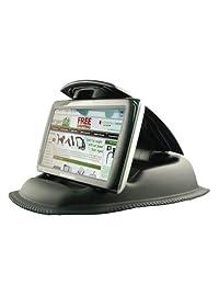 Beanbag de ChargeCity Hippo Series NonSlip Dashboard Friction Mount para Garmin Nuvi, TomTom, Via GO y otros dispositivos y teléfonos inteligentes con GPS de 4-6 pulgadas