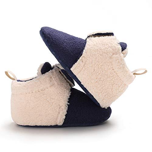 Oscuro Invierno Azul Niña Latino Salsa Bebé De Piel Casual Ashop Zapatillas Morado Zapatos Botines Baile Bebe ZXqwUz