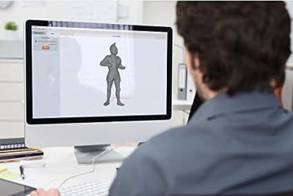 Matter & Form MFS1V2 3D Scanner V2 +Quickscan, Negro: Amazon.es ...