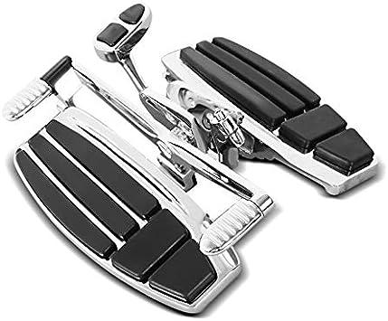 Fahrer Trittbretter Kompatibel Für Honda Goldwing Gl 1800 F6b F6c 01 16 Fussrasten Chrom Auto