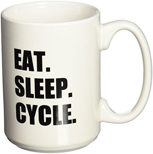 3dRose mug 180393 2 Cycle Passionate Cycling Bicycle Enthusiast