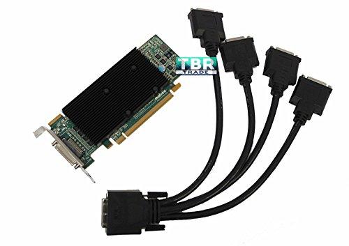 Matrox M9140 M9140-E512LAF 512 KX20 MB PCI-e x16 Video Graphics Card LOW bracket