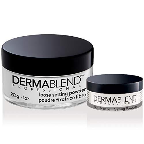 Dermablend Loose Setting Powder, Face Powder Makeup & Finishing Powder for Light, Medium & Tan Skin Tones, Mattifying…