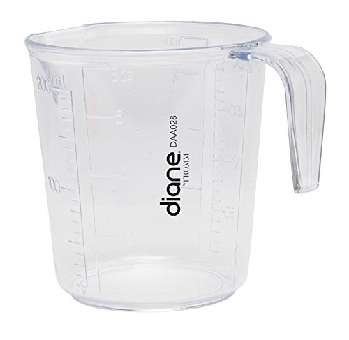 - MayaBeauty Diane Fromm Handle Measuring Cup 8 oz Clear DAA028