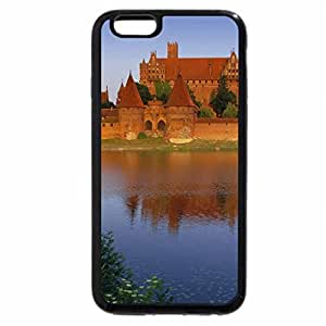 iPhone 6S / iPhone 6 Case (Black) ON THE OPPOSITE SHORE CASTLE