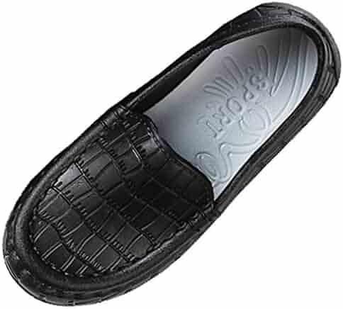 ef766ea47c0b VECJUNIA Boy s Girl s Solid Loafers Low Top Lightweight Shoes (Toddler Little  Kid)