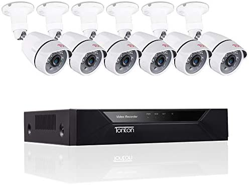 Tonton 8CH Full HD 1080P Security Camera System