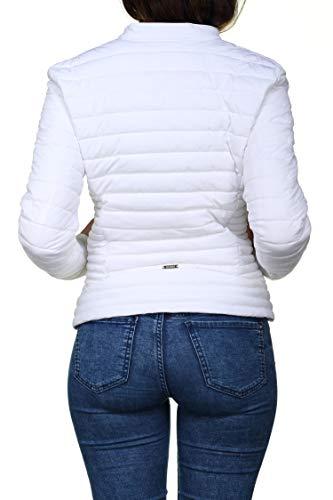 Femme Twht W6nw0 W84l45 Blanc Blouson Guess CxB6zw5q5