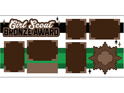 Girl Scout Scrapbook Pages (